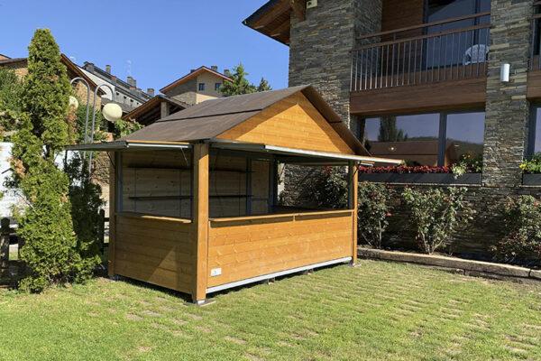 Caseta de madera 4.00 x 2.00